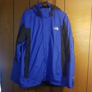 The North Face Hyvent coat- size L
